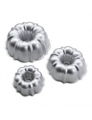 Conjunto de 3 formas Tiered Bundt da Nordic Ware