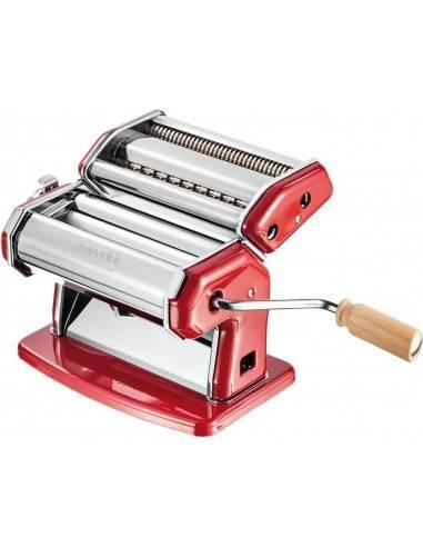 Imperia Italian 150mm Double Cutter Pasta Machine La Rossa