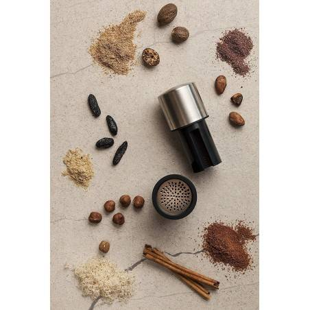 Microplane Spice Mill 2 in 1 Grate and store - Mimocook