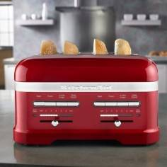 KitchenAid Artisan 4 slot toaster candy apple