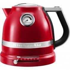 Chaleira Artisan 1,5L vermelha da KitchenAid