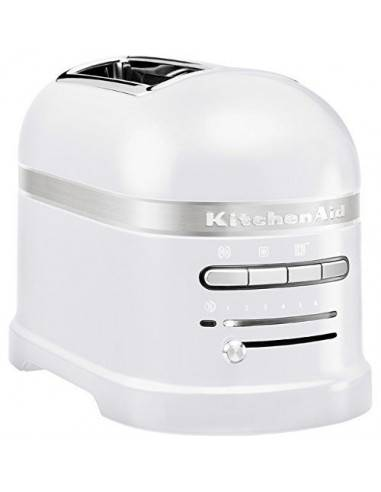 KitchenAid Artisan 2 slot toaster frosted pearl - Mimocook