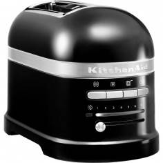 KitchenAid Artisan 2 slot toaster onyx black - Mimocook