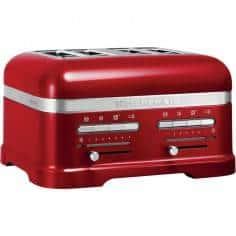 KitchenAid Artisan 4 slot toaster candy apple - Mimocook