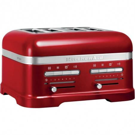 KitchenAid Artisan 4 slot toaster candy apple - Mimocook