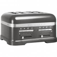 KitchenAid Artisan 4 slot toaster medaillon silver - Mimocook
