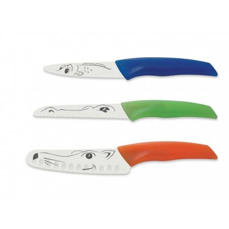 Set facas Kids ICEL 4 peças - Mimocook