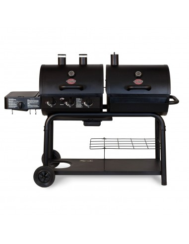 Char-Griller Duo Hybrid Grill Gas and Charcoal