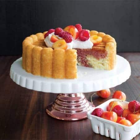 Nordic Ware Charlotte Cake Pan - Mimocook