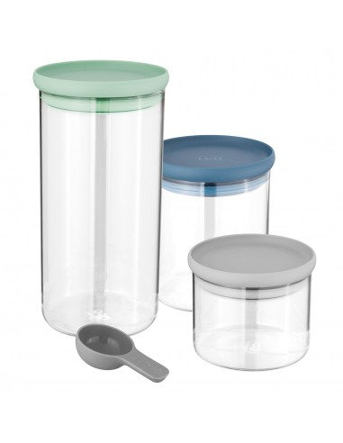 Berghoff Leo Glass food container 3pc set