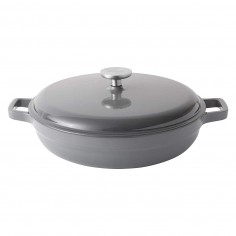 BergHOFF Cast iron covered sauté pan grey 28