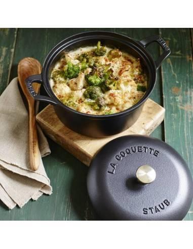 Cocotte redonda Vintage Coquette da Staub - Mimocook