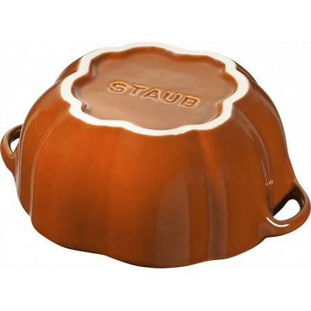 Staub orange ceramic pumpkin cocotte - Mimocook