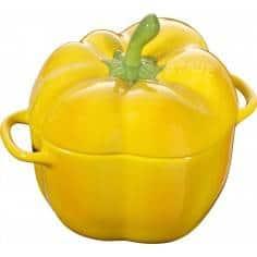 Staub ceramic petite pepper cocotte