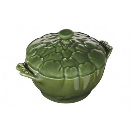 Staub ceramic petite artichoke cocotte - Mimocook