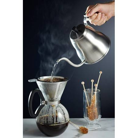 Kitchen Craft LeXpress Stainless Steel Pour-Over Coffee Kettle - Mimocook