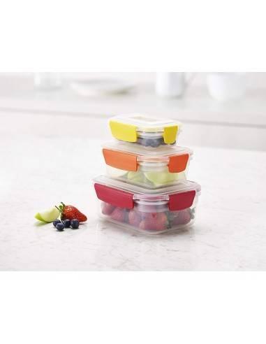 Joseph Joseph Nest Lock 3 Piece Storage Container Set - Mimocook