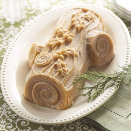 Nordic Ware Yule Log Pan Silver - Mimocook