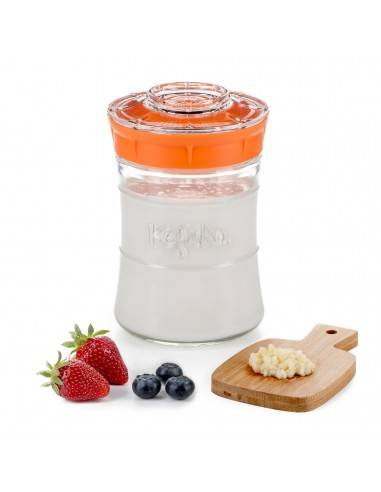 Kefirko orange Kefir Maker 848 ml - Mimocook