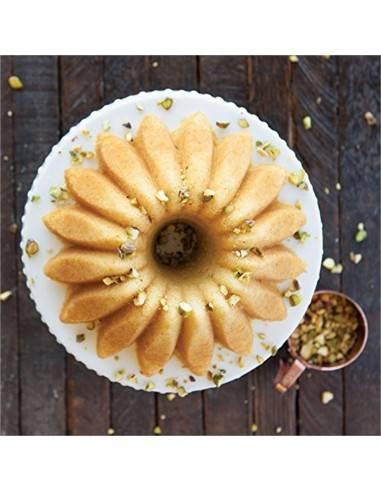 Forma Lotus Bundt Pan 5 cups da Nordic Ware - Mimocook