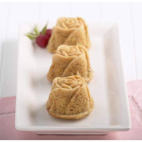 Nordic Ware Rose Muffin Baking Mould - Mimocook
