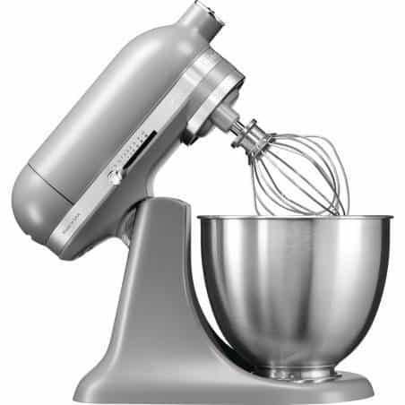 Batedeira Mini Artisan 3,3 L Cinzenta da KitchenAid - Mimocook