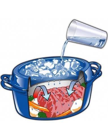 Le Creuset 30cm Doufeu Casserole Dish Cast-Iron - Mimocook