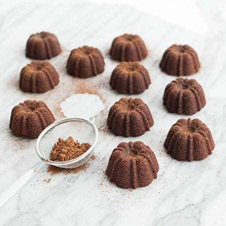 Forma Brownie Bundt Pan da Nordic Ware - Mimocook