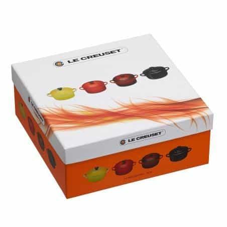 Set de 4 mini cocottes amarelo vermelho da Le Creuset - Mimocook