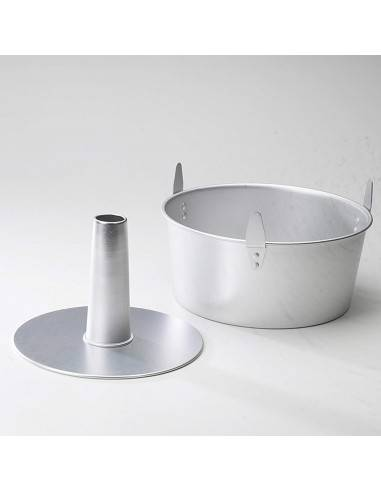 Nordic Ware 2 Piece Angel Food Pan with Cooling Feet - Mimocook