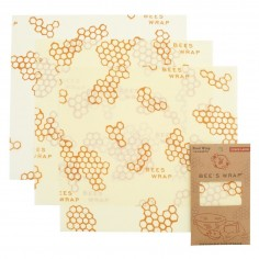 Bees Wrap Set of 3 Wraps Large 33 x 35 cm