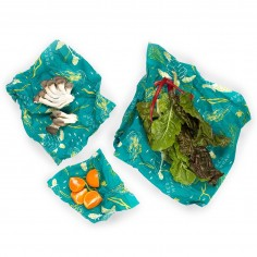 Bees Wrap Set of 3 Assorted Size Wraps