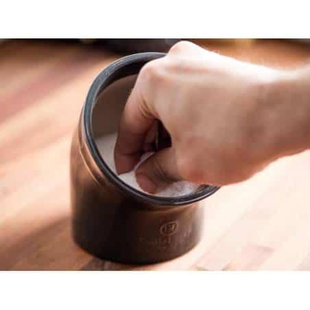 Pote de sal em cerâmica da Emile Henry - Mimocook