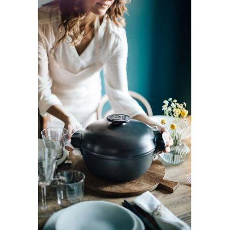 Emile Henry Small Casserole Dutch Oven 4L - Delight - Mimocook