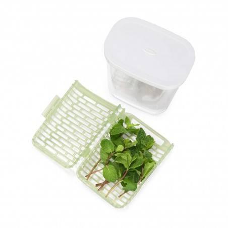 Caixa para ervas aromáticas GreenSaver da OXO - Mimocook