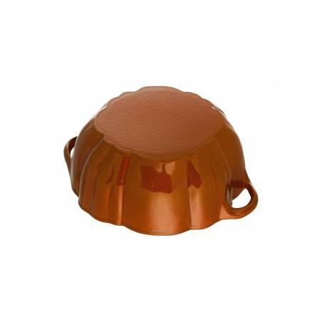 Staub pumpkin Cocotte 24 cm - Mimocook