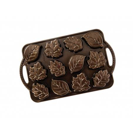 Nordic Ware Leaflettes Cakelet Pan - Mimocook