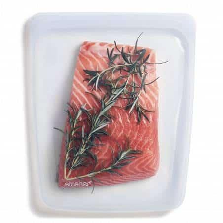 Bolsa reutilizável 1,92l para alimentos da Stasher - Mimocook