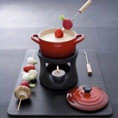 Le Creuset mini fondue set