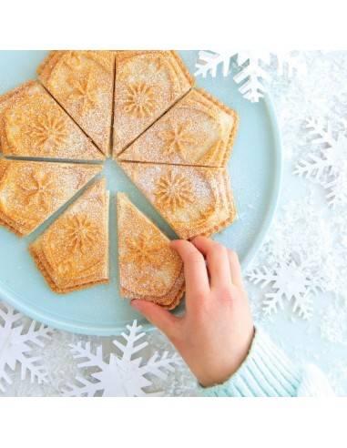 Nordic Ware Cast Snowflake shortbread pan - Mimocook