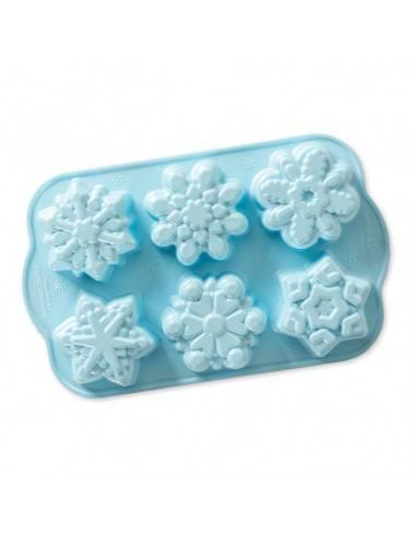 Nordic Ware Disney Frozen 2 Cast Snowflake cakelet pan