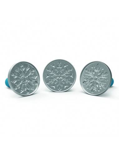 Nordic Ware Disney Frozen 2 Falling Snowflake cookie Stamps