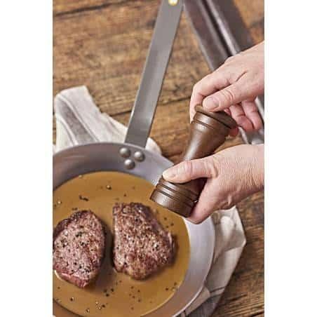 De Buyer Mineral B Element Round Frying Pan