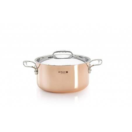 De Buyer Prima Mantera Cooking Pot with Lid