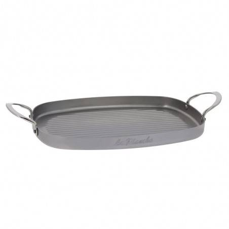 De Buyer Mineral B Element steel grill frying pan