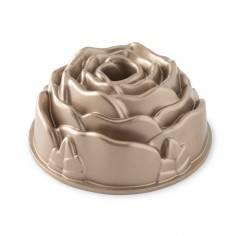 Nordic Ware Cast Aluminum Platinum Rose Bundt Pan - Mimocook