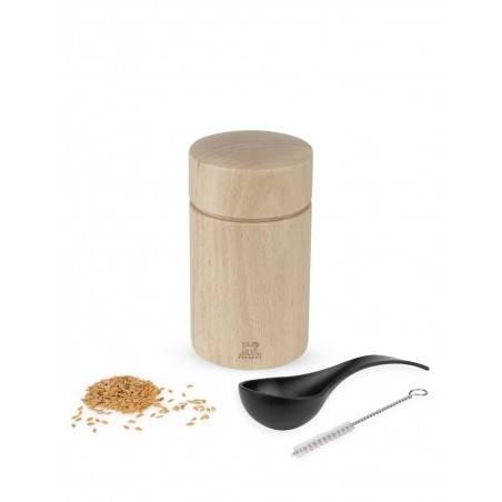Peugeot NAKA Flax Seed Mill Wood - Mimocook