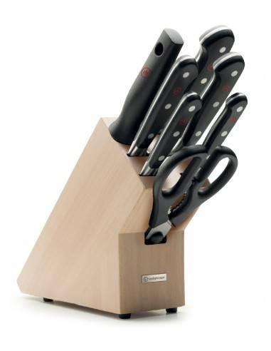 Wusthof Classic 7 pc. knife block - Mimocook