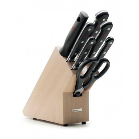 Bloco de facas Wusthof Classic 7 peças - Mimocook
