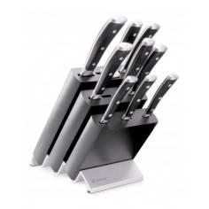 Wusthof Classic Ikon Knife block 9 pc. set - Mimocook